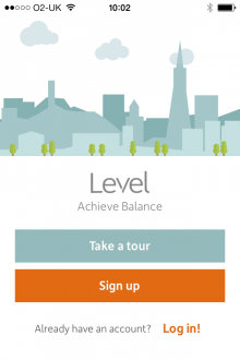 a 220x330 Level: A real time money meter app that wants to be your Fitbit for personal spending