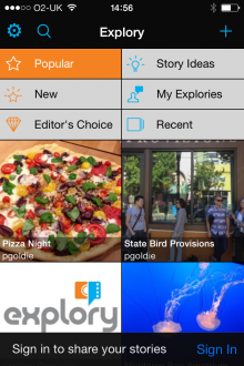 a3 220x330 Explory is a multimedia storytelling app from the creators of Flash