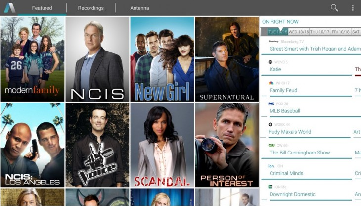 aereo 730x416 US TV streaming service Aereo finally launches an Android app
