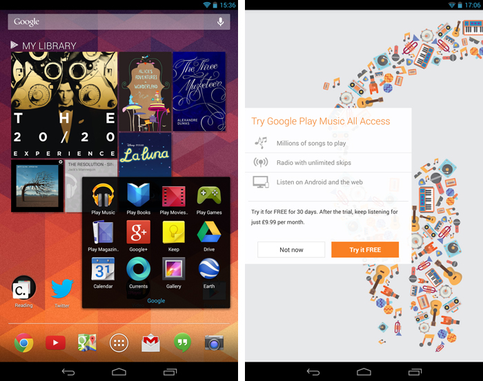 android1 An in depth guide to Google Play Music All Access