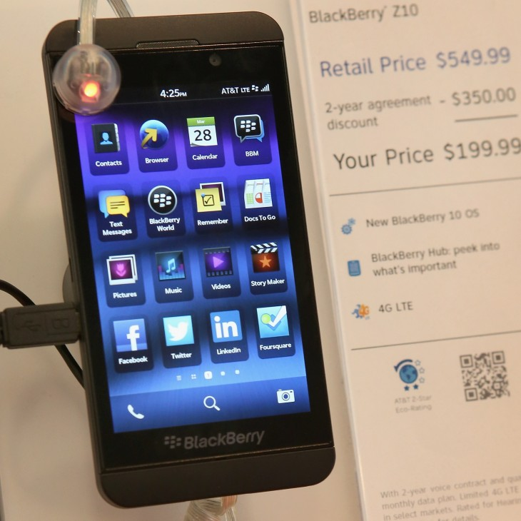 bb 730x730 BlackBerry may be in crisis, but BlackBerry 10 smartphones are now approved for use by NATO