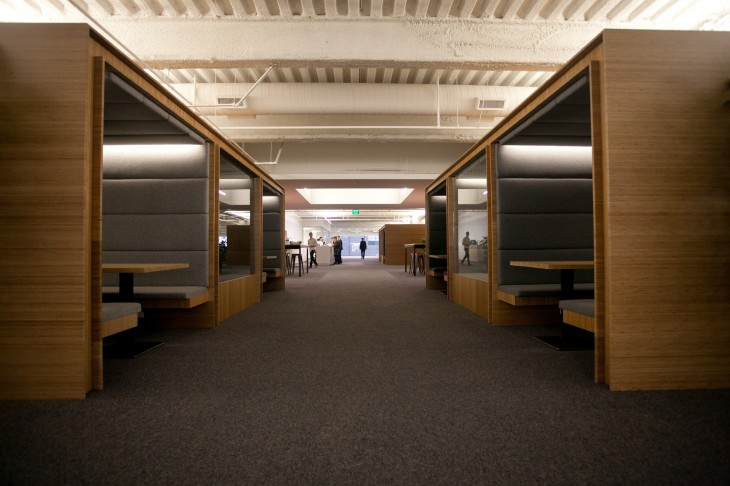cabanas 730x486 Startup spaces: How to design your startup office for a productive workforce