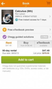 Chegg, Inc. is an American education technology company based in Santa Clara, California, that used to specialize in online textbook rentals (both in physical and digital formats), and has moved into homework help, online tutoring, scholarships and internship matching. It is meant to help students in high school and submafusro.ml also owns citation services EasyBib, Citation Machine, BibMe, and.