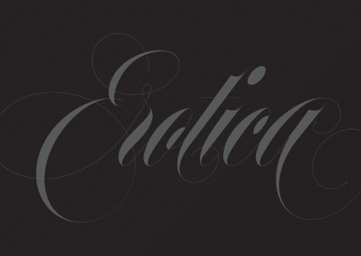 erotica 520x370 20 of our favorite typefaces from this past month