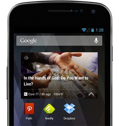 feedly widget1 Feedly for Android gets 300% faster, new visuals and mysterious support for KitKat