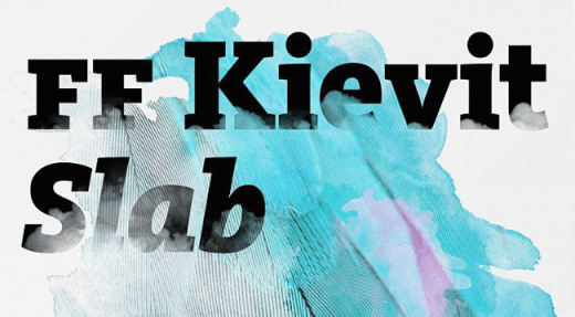 ff kievit slab 520x287 20 of our favorite typefaces from this past month