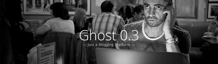 ghost blogging 730x215 Open source blogging platform Ghost opens to the public, hopes to take on WordPress with simplification