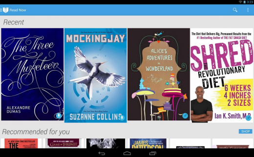 googleplaybooks 520x322 20 of the best ways to buy ebooks, digital comics and etextbooks