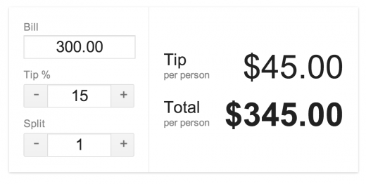 googletip 520x262 Pro tip: Google Search now includes a tip calculator