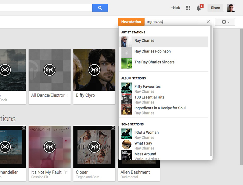 newstation An in depth guide to Google Play Music All Access