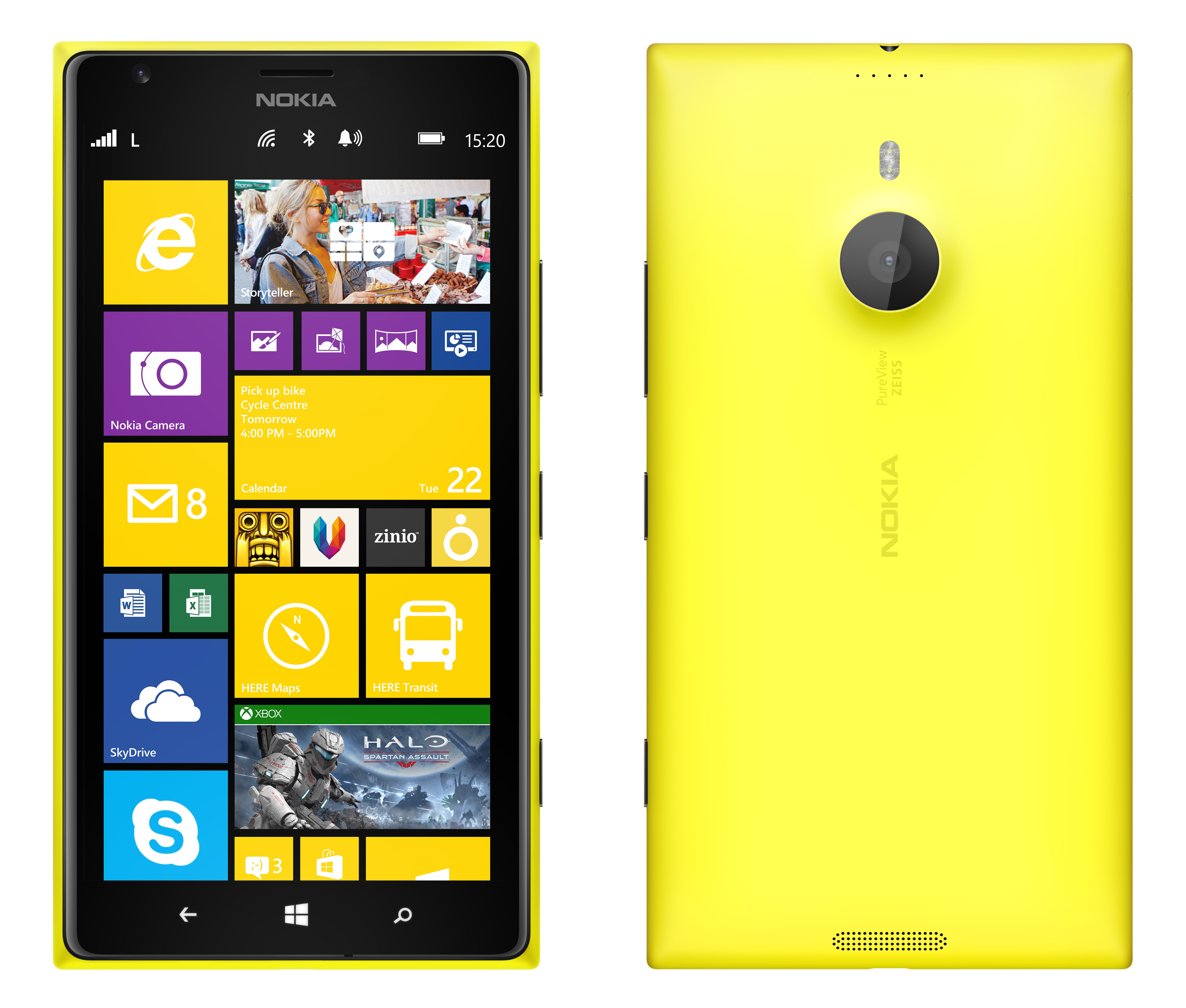 The <b>Nokia Lumia 1520</b> ...