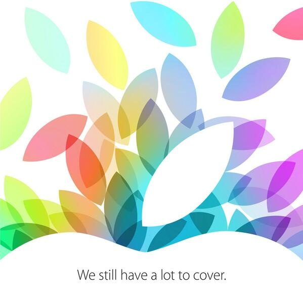 oct 22 2013 invite Apple confirms October 22 event with press invites: We still have a lot to cover