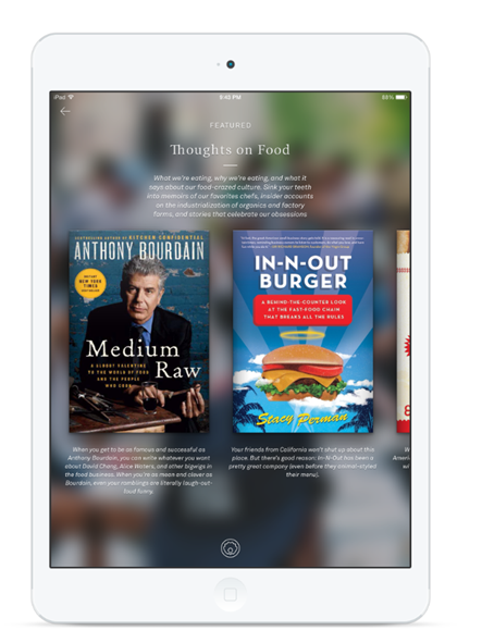 oyster ipad Oyster, the 'Netflix for ebooks', arrives on the iPad