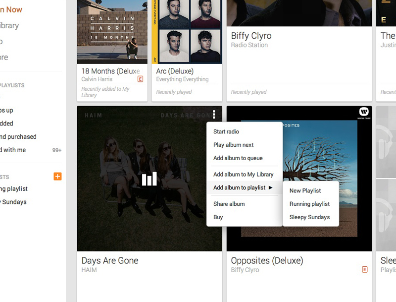 playlistzoom An in depth guide to Google Play Music All Access