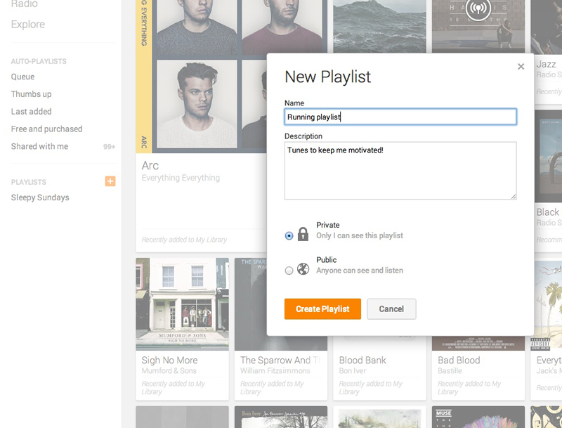 playlistzoom2 An in depth guide to Google Play Music All Access