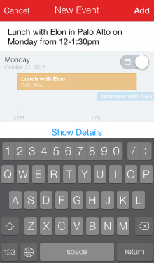 screenshot 5 newevent 220x376 Fantastical gets retooled for iOS 7, new $4.99 app includes better reminders, landscape mode and more