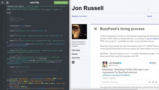 tumblr3 520x295 Tumblr now lets you preview new themes in real time and more easily customize your blog
