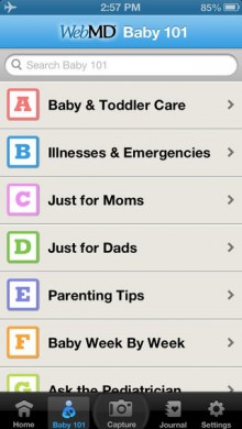 20 great apps for becoming a parent