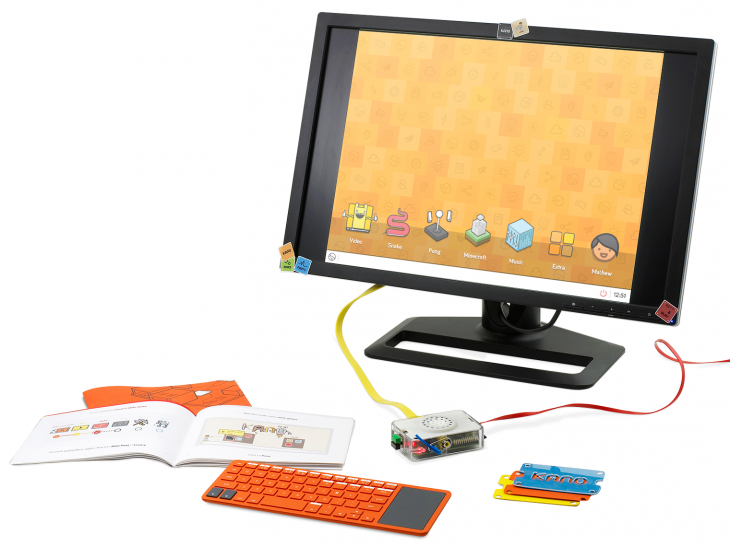 02 Kano Setup wBackdrop 730x546 Kano launches a Kickstarter campaign for its $99 DIY, Raspberry Pi powered PC building kit