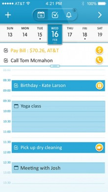 11 220x391 Automatic to do list app 24me is now a smart calendar too
