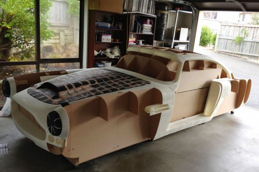 3D printed aston martin DB4 replica designboom 05 520x346 15 of the best 3D printed items from 2013
