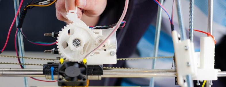 3d printing close up
