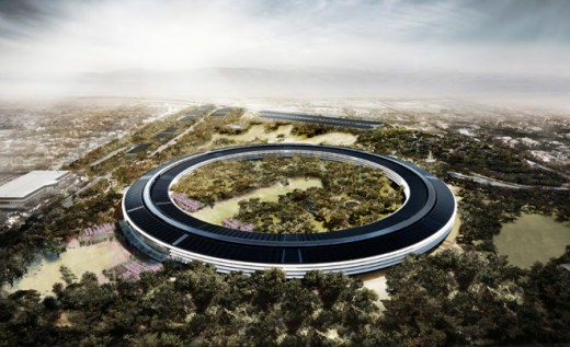 APPLREND00 520x317 Finally, Apple can start building its massive new spaceship campus    which looks stunning