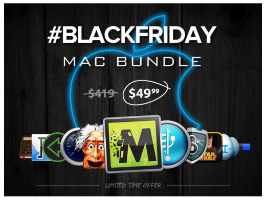 BlackFriday Mac Bundle 520x392 Start Black Friday early: Come and grab $400 worth of Mac apps for $49