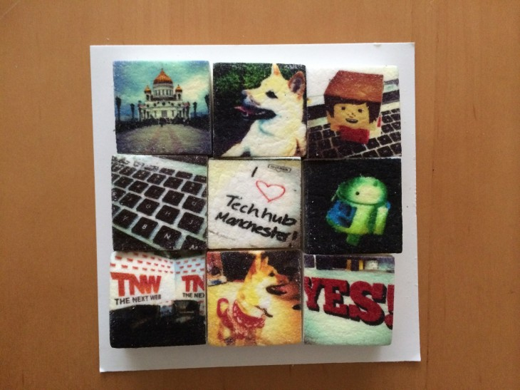 Boomf6 730x547 Boomf: Marshmallows with your Instagram photos on them