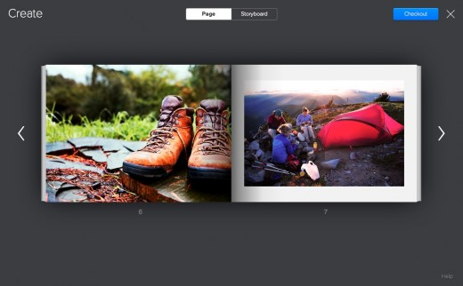 Flickr Photo Book page 520x322 Flickr unveils a new service that turns your memories into $34.95 hardcover Photo Books