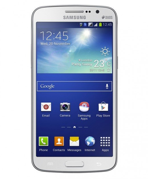 Grand2 11 520x631 Samsung unveils the 5.25 inch Galaxy Grand 2, featuring a quad core 1.2GHz processor and 1.5GB RAM