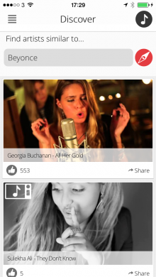 IMG 0026 220x390 Rormix helps you find new unsigned music videos based on bands you already like