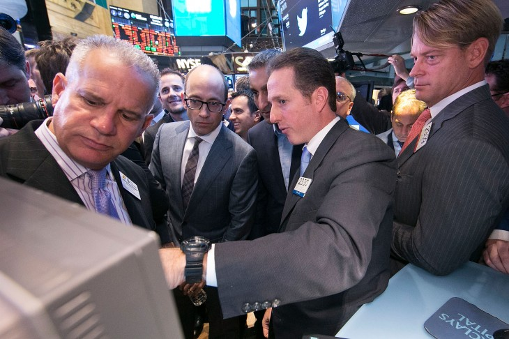 IMG 0214 730x486 In pictures: Twitter kicks off its IPO on the New York Stock Exchange