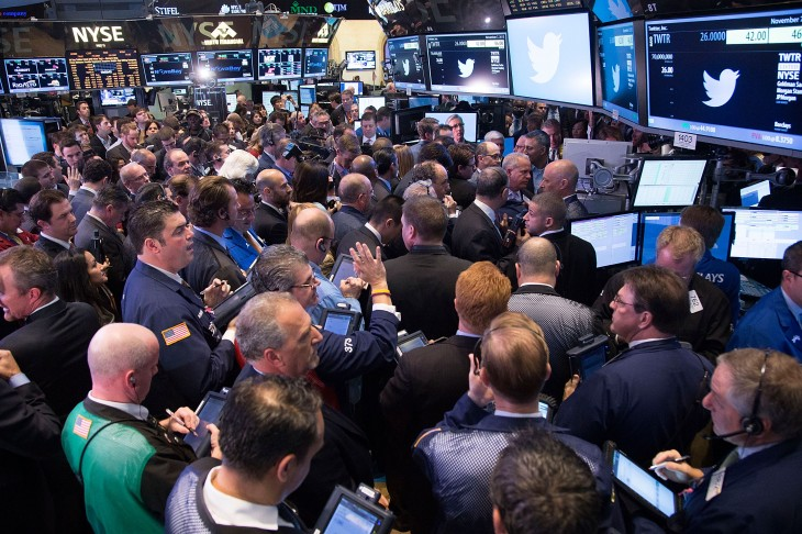 IMG 0300 730x486 In pictures: Twitter kicks off its IPO on the New York Stock Exchange