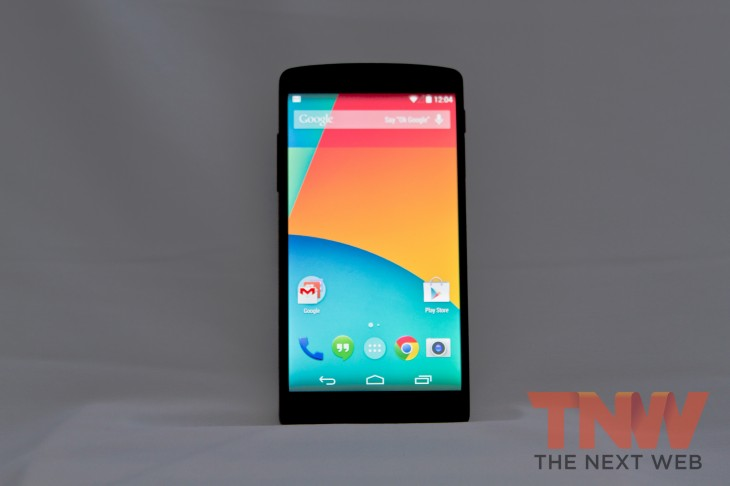 IMG 1966 730x486 Hands on first impressions of Googles Nexus 5 and Android 4.4 KitKat