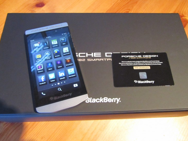 IMG 2168 730x547 Hands on with BlackBerrys $2,350 Porsche Design P9982 smartphone: Wheres the added value?