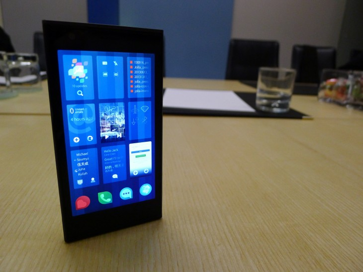 Jolla4 730x547 Jolla hands on: A closer look at the first Sailfish OS powered smartphone