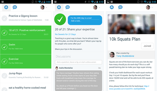 Lift 1 Motivational app Lift lands on Android to help users turn goals into regular habits