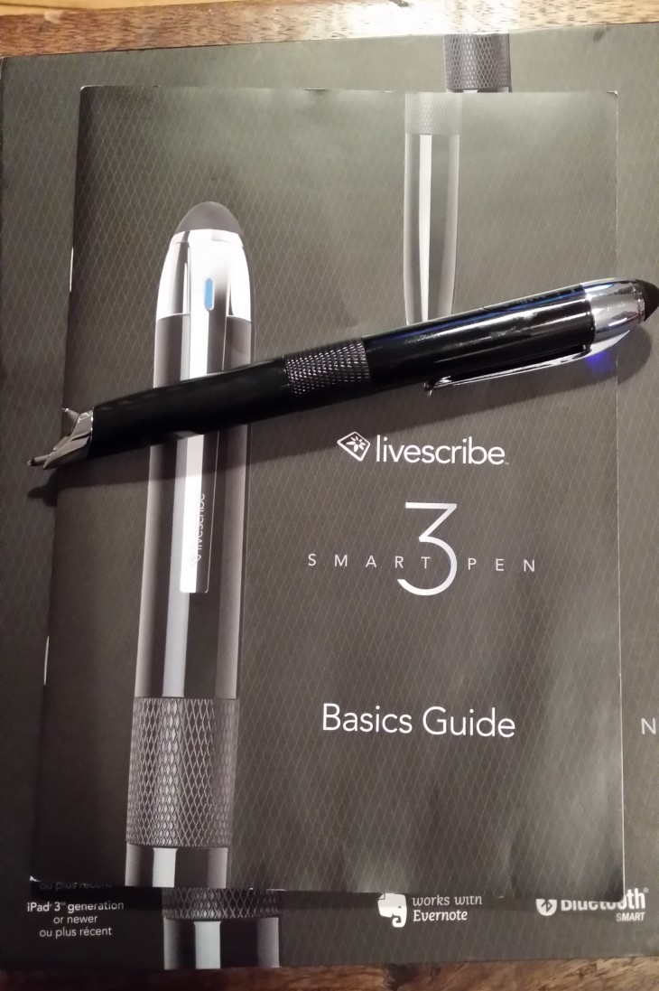 Livescribe3 box 730x1097 Livescribe 3 review: A truly smart pen, but a demanding one too