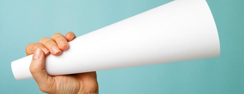Megaphone paper