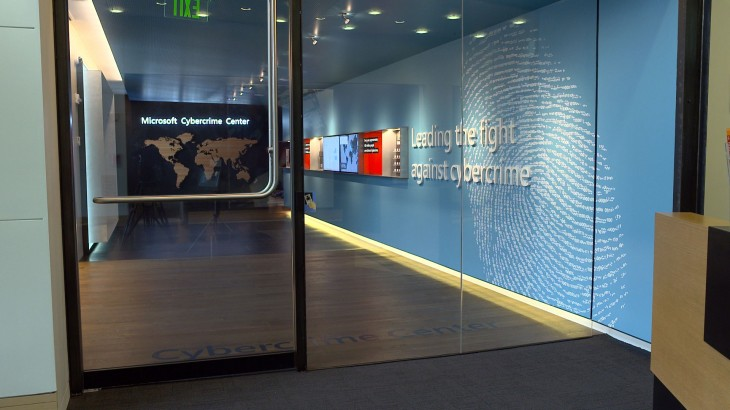 MicrosoftCybercrimeC Web 730x410 Microsoft opens a futuristic Cybercrime Center in Redmond to tackle botnets, malware and more
