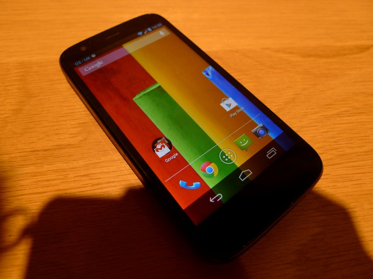 P1040581 730x547 Moto G hands on: Motorola ignores low end smartphone expectations with this stylish sub $200 handset