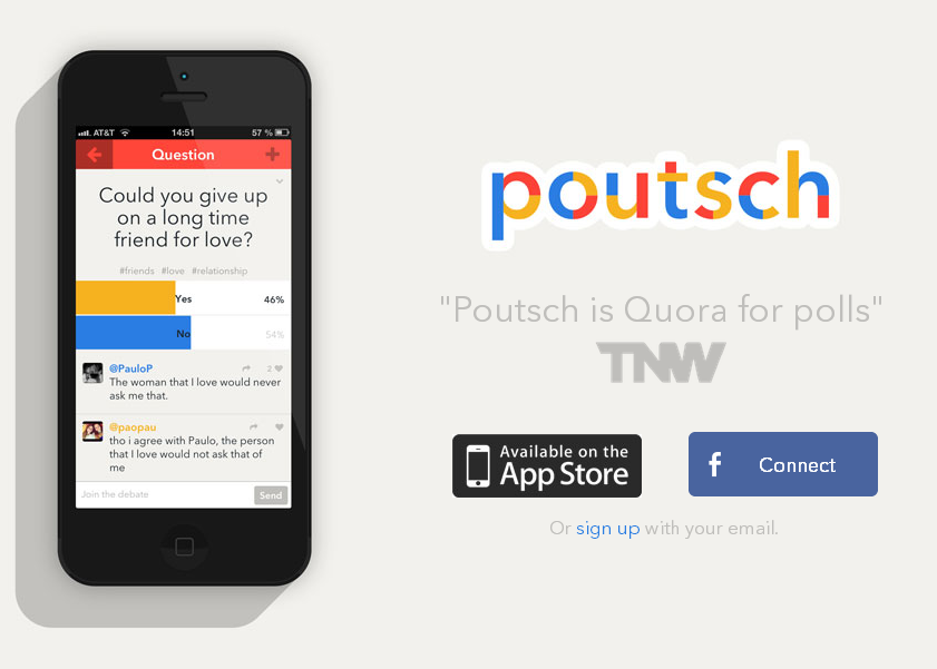 Poutsch The best polling apps on the Web