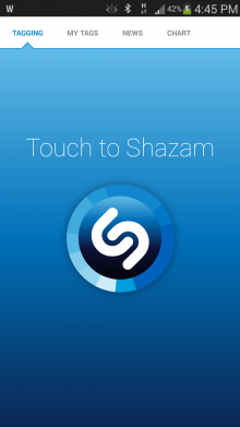 Screenshot 2013 11 08 16 45 02 220x391 Shazam brings interactive maps to Android, letting you see the most tagged songs by region