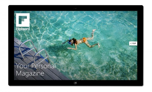 Start Screen isolated 520x315 Flipboards Windows 8.1 app now available with Live Tile support and native gesturing [Update]
