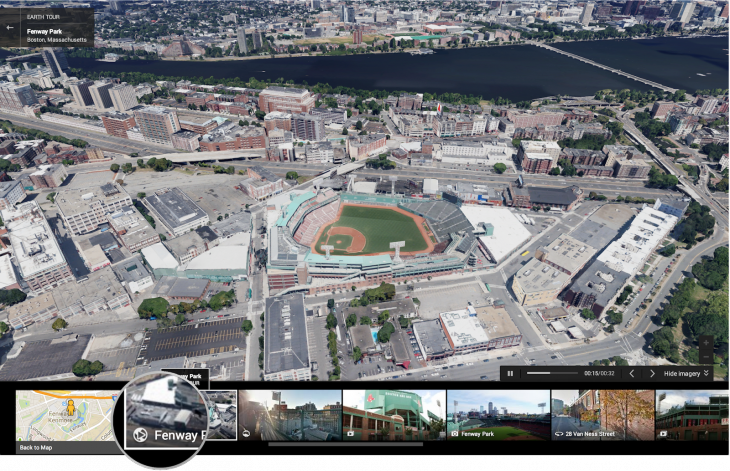 Take a virtual tour of Fenway Park