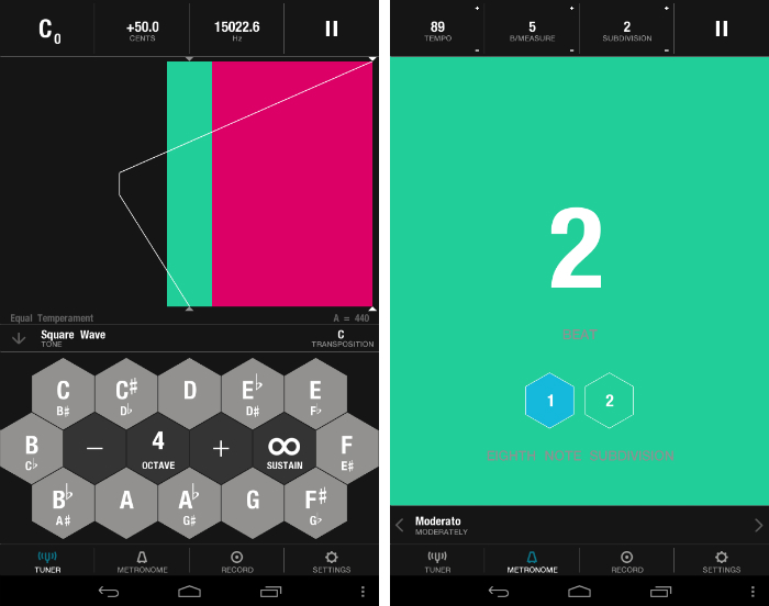 Tunable1 30 of the most beautiful and well designed Android apps
