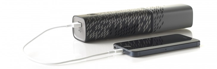 Upp Connected to Mobile Device1 730x233 UPP is a fuel cell charger for smartphones and other devices, but its also destined for integration