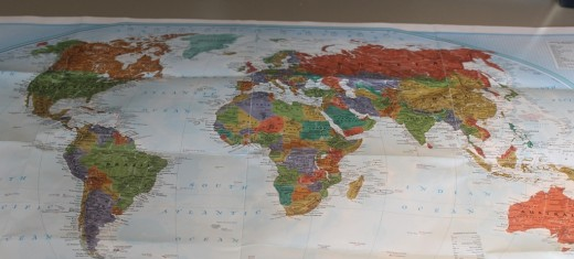 World - Map - Maps - Earth - Planet