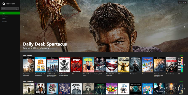 XboxVideo 730x370 Microsoft rolls out Xbox Video on the Web